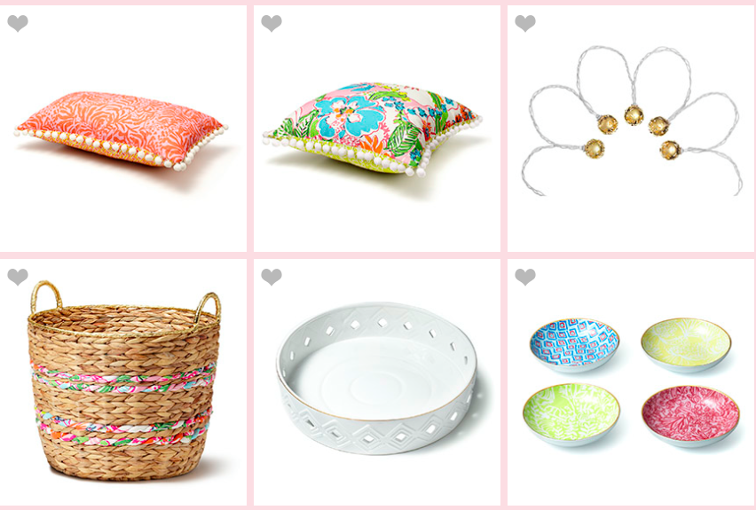 Lilly Pulitzer For Target Pillows