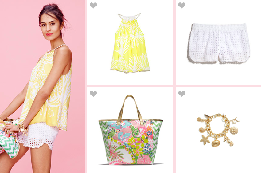 Lilly Pulitzer For Target Yellow Top