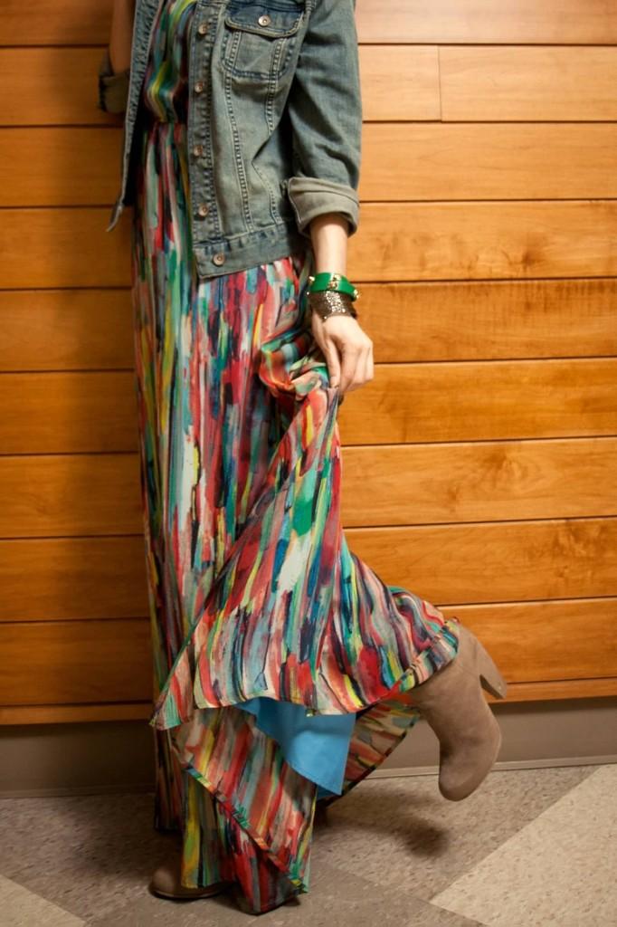 Multi-Color-Maxi-Dress