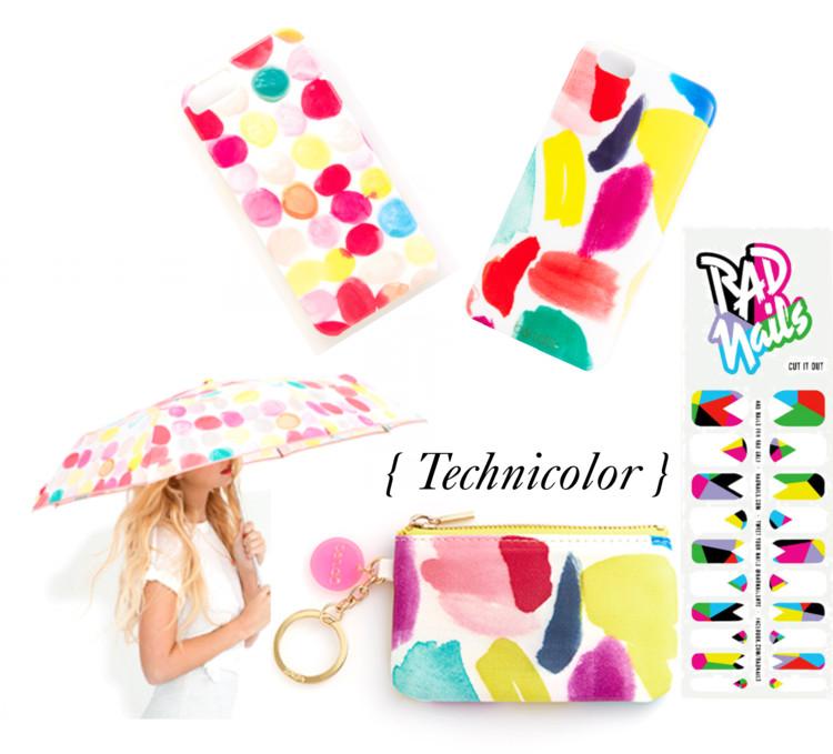 technicolor accessories