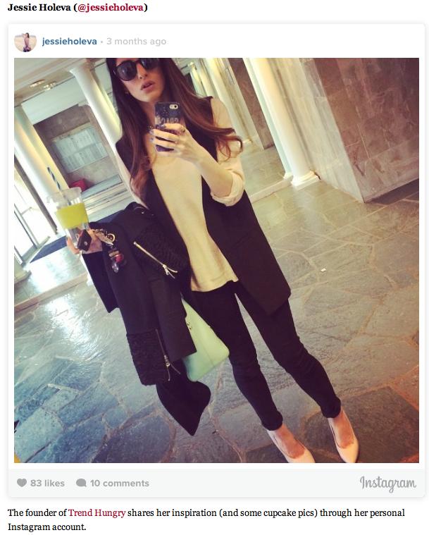 Jessie Holeva Instagram Philly Style