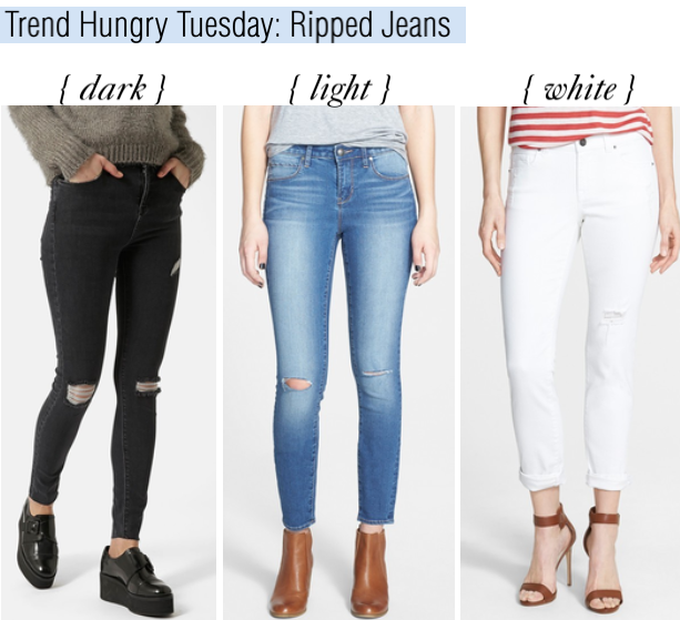 trend hungry tuesday- ripped jeans