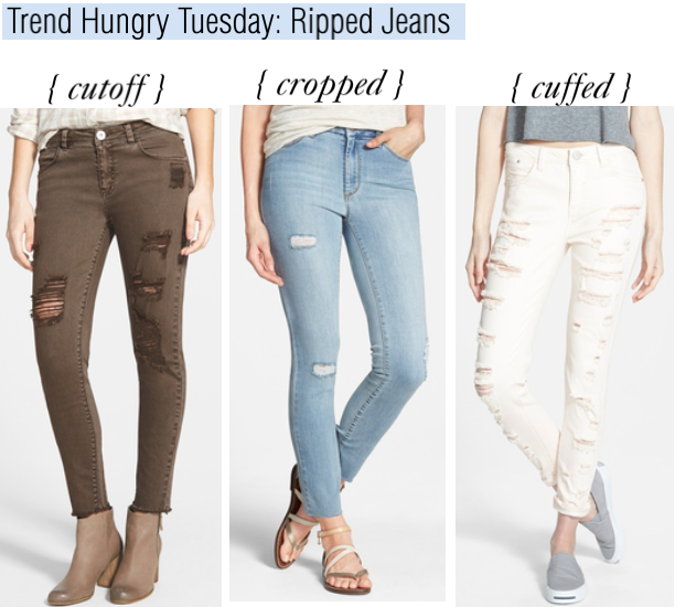 trend hungry tuesday-ripped jeans