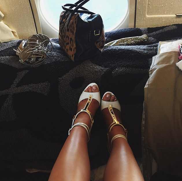 kylie-jenner-white-gold-shoes