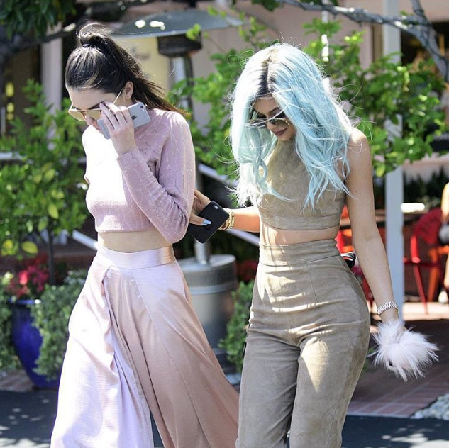 Kylie-Jenner- matching-separates