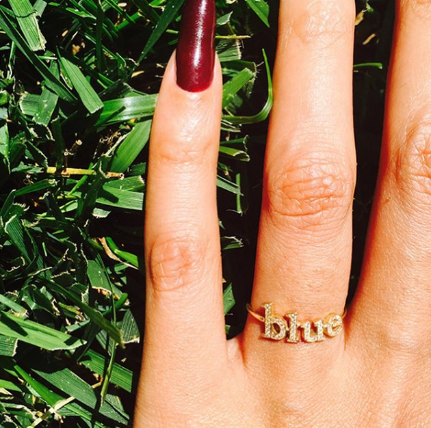 beyonce's blue ring