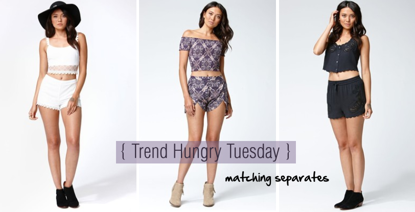 matching separates kendall & kylie at pacsun