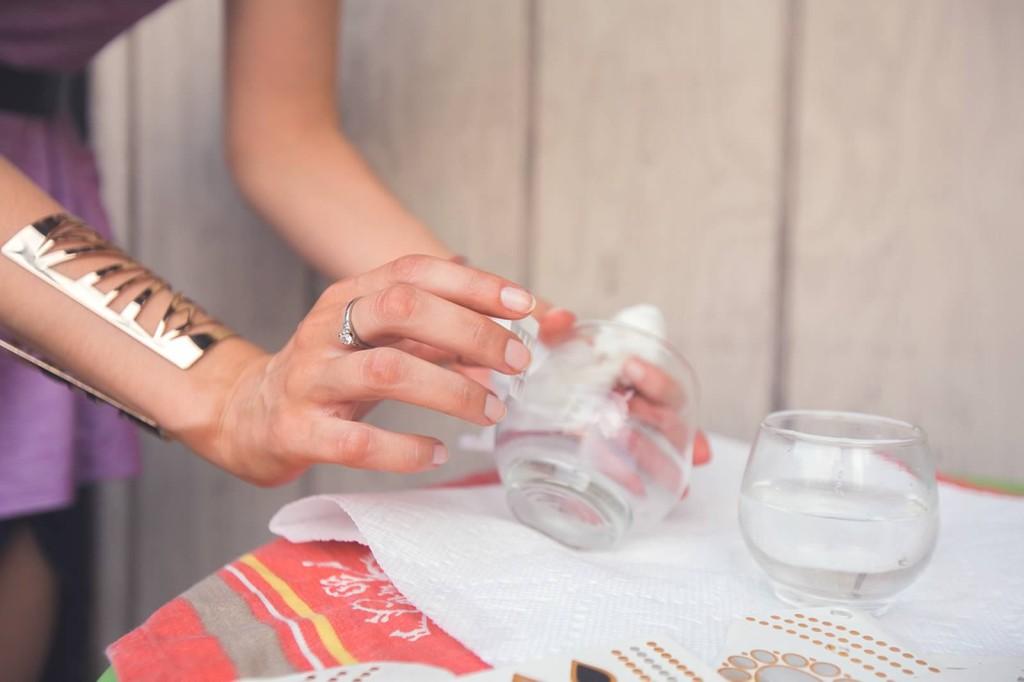 DIY flash tat candle holder tutorial
