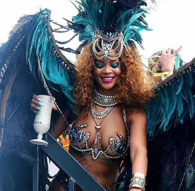 Rihanna body jewelry