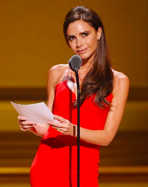 Victoria Beckham Glamour Women of the Year
