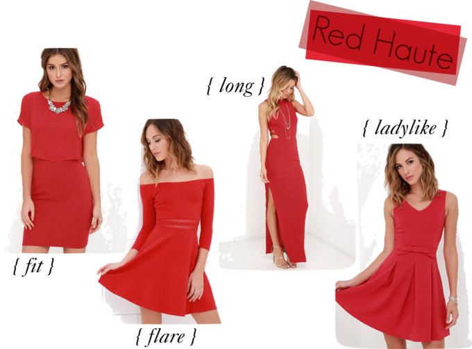 lulus red dresses under $50