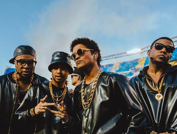 Bruno Mars 2016 Super Bowl