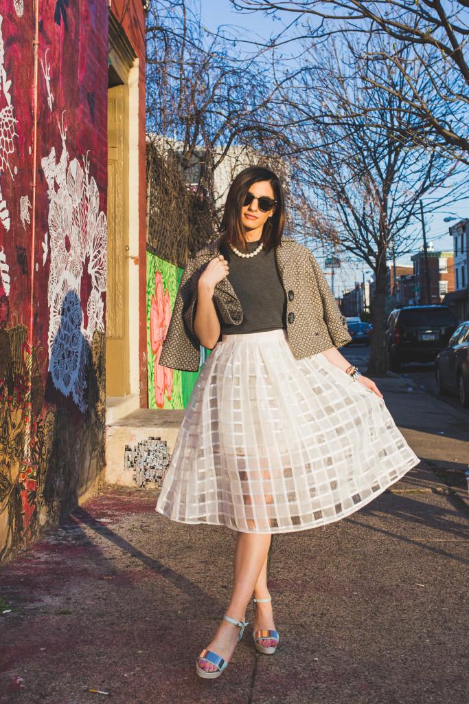 Fishtown Philadelphia fashion photoshoot