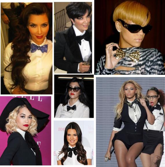 bow ties on celebs