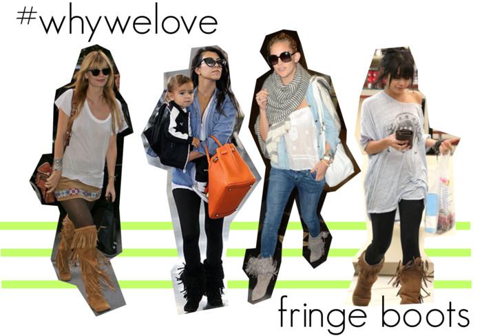 #whywelove: fringe boots