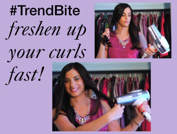 trend bite hair tip