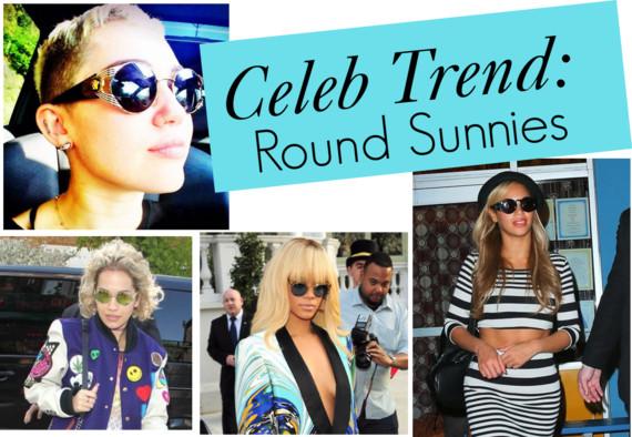 celebs in round sunglasses