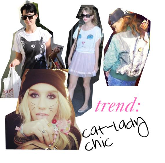 cat-lady chic