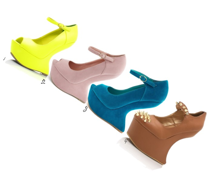 Heel-less shoes
