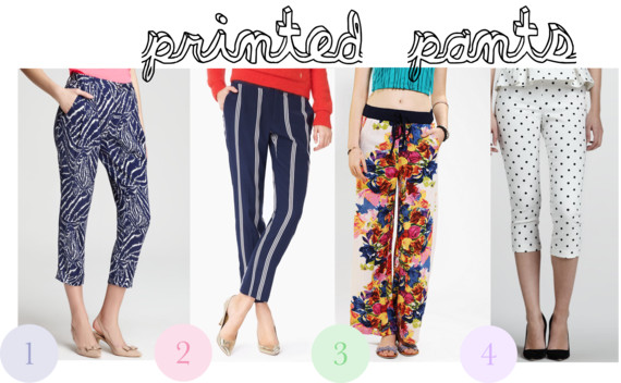 Printed pants from simon malls King of Prussia Mall