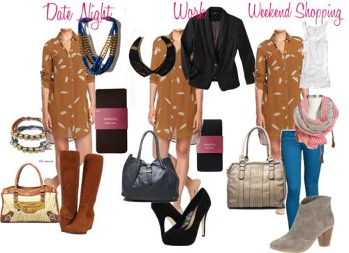 SRS: Feather Dress 3 Ways