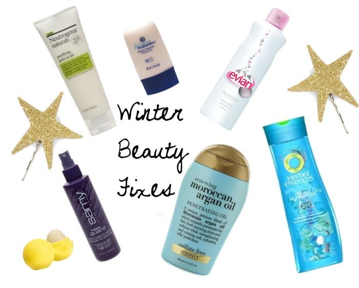 winter beauty fixes